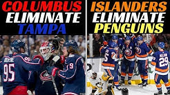 2019 Stanley Cup Playoffs - CBJ & Islanders complete sweeps