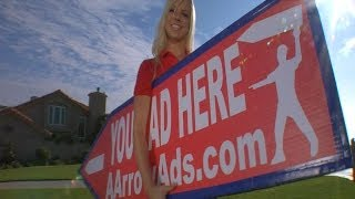 """AArrow Sign Spinners  - """"Word on the Street..."""" (Emmy Award Winning Commercial)"""