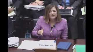 Rep. Loretta Sanchez Affirms Support of High Speed Rail During Transportation Hearing 1.15.2014