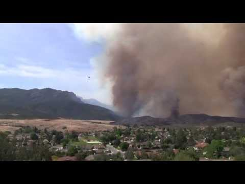 SpringsFire | SYCAMORE CANYON FIRE!