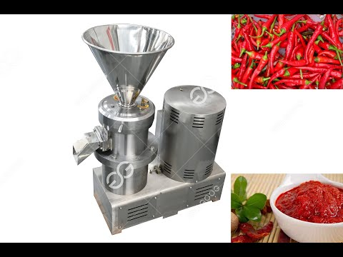Commercial Sauce Making Machine 304 Stainless Steel Chili ...