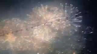 Feux d'artifice fêtes de Genève 2015 ( bouquet final)