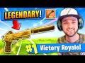 *NEW* LEGENDARY PISTOL in Fortnite: Battle Royale!