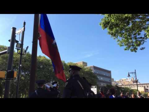 2015 Haitian Flag Raising - Newark, NJ (Part 1)