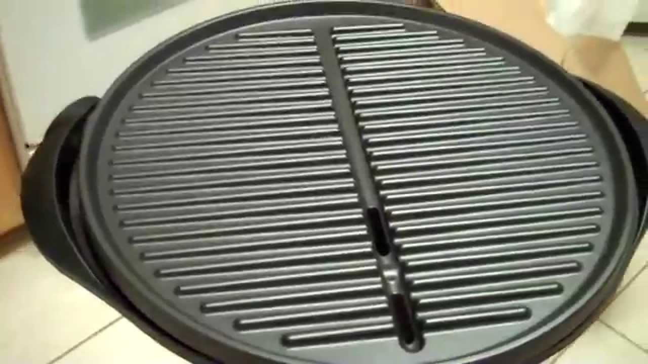 New George Foreman Electric Indoor Outdoor Grill : Review   YouTube