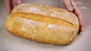 Хлеб за 1 час выпечка Быстрый РЕЦЕПТ ХЛЕБА без хлебопечки ВКУСНЫЙ Рецепт хлеба в духовке