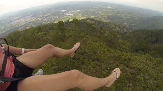 Jumping Off A Mountain- Paragliding Dominican Republic