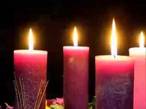 Encendido de la vela cuarto domingo de adviento youtube - Velas adviento ...