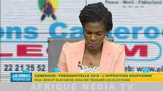 CAMEROUN / PRÉSIDENTIELLE 2018 : L'OPPOSITION SOUPÇONNE PAUL BIYA ET ELECAM