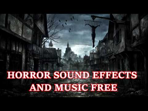 Download Unlimited Royalty-Free Horror Sound Effects