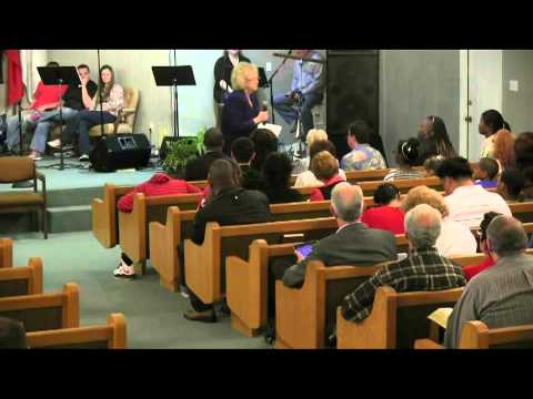 Glenda Jackson Ministers and the Glory of God hits the service in Houston area on 3-31-2013 part 1