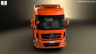 Dongfeng Denon Tractor Truck 2012 3D model by Humster3D.com