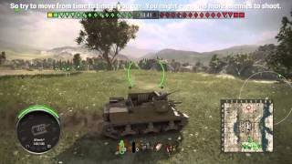 World of Tanks PS4 Edition - Tips on using artillery vehicles