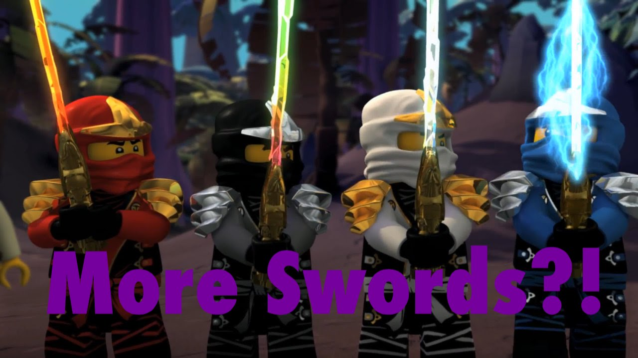 Ninjago More Elemental Swords In Season 6 Youtube