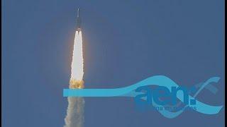 Se lanzó con éxito el ARSAT II. AEN TV 01/10/15 11HS