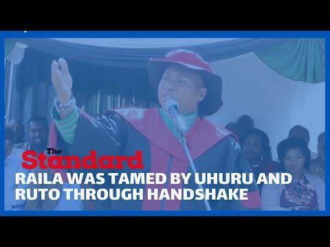 Nominated MP David Sankok reveals that handshake was a ploy to tame Raila's dominance