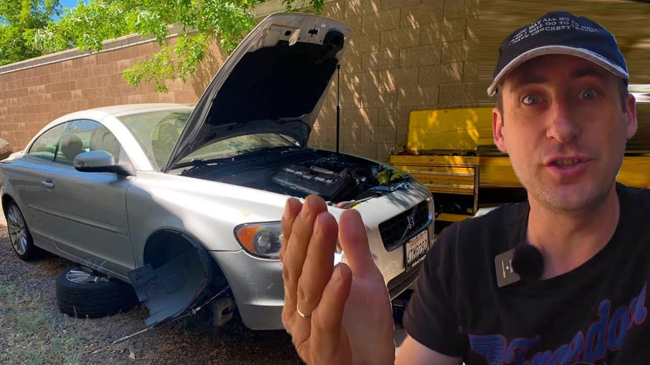 Volvo C70 T5 / Загадочный двигатель куда пропала компрессия ?
