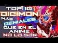TOP 10 Digimon M  s GENIALES que en el Anime no lo son