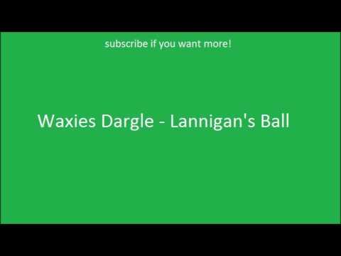 Irish Drinking Songs- Waxies Dargle - Lannigan's Ball