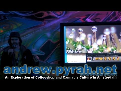 Bubbleman Hash, Oil, Extracts & Extractions Seminar - Cannabis Cup 2013 Amsterdam PART 1