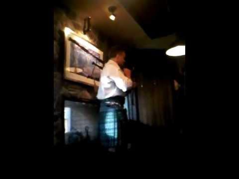 Stuart Liddell at the Bulldog Pub July 10, 2013 Part 1