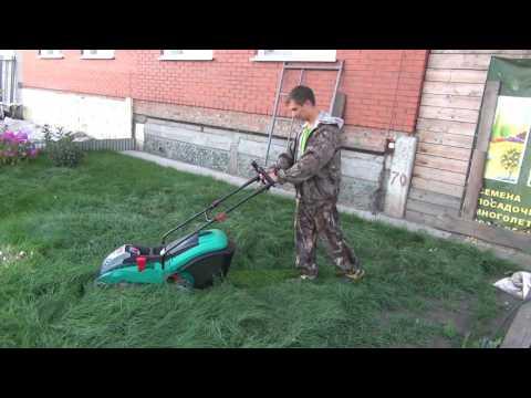 Видео обзор: Газонокосилка аккумуляторная BOSCH Rotak 43Li
