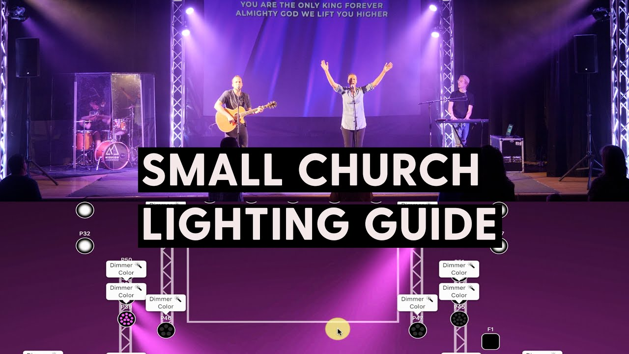 How To Design Lights For Worship You
