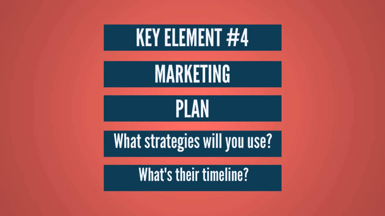 business plan key elements