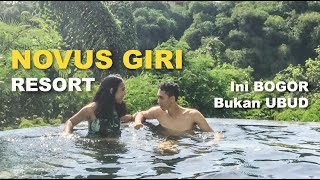 Gambar cover Hotel ala - ala Ubud di Puncak Bogor (review Novus Giri Resort & Spa) #APPVLOG14