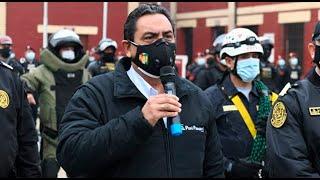 """Ministro del Interior advierte: """"La PNP está permitida de ingresar a una vivienda"""""""