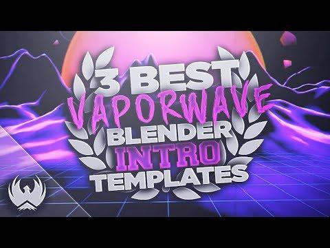 Free Vaporwave Intro Template Panzoid - YouTube Candybrandretro
