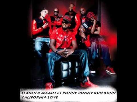 Sexion D'assaut ft Ponny Ponny Run Run-California Love.wmv