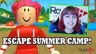 LAST DAY OF SUMMER! | Roblox Escape Summer Camp Obby