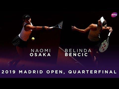 Naomi Osaka vs. Belinda Bencic | 2019 Madrid Open Quarterfinal | WTA Highlights