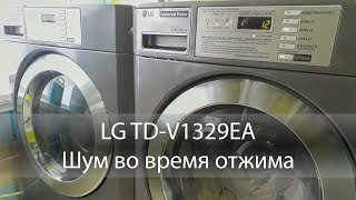 LG TD-V1329EA4 Сторонній шум під час віджиму