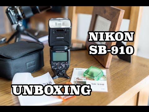 Вспышка Nikon SpeedLight SB-910 Обзор - YouTube