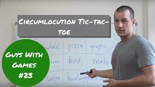 ESL games (GWG) #23 Circumlocution Tic Tac Toe - no prep screenshot 2