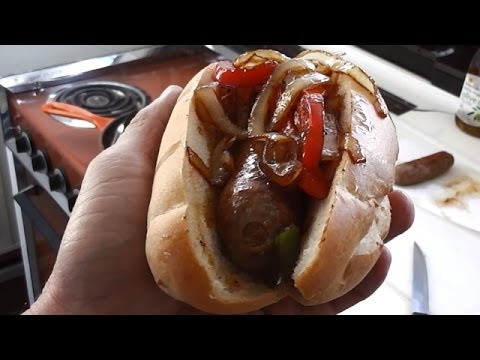 Italian Sausage With Peppers and Onions Recipe