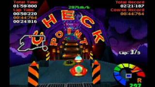 Playstation - Motor Toon Grand Prix 2 Haunted Castle
