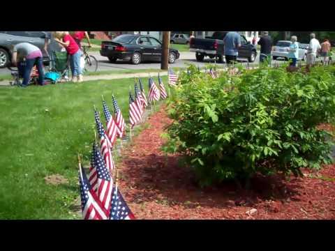 Collinsville Illinois American Legion on Memorial Day