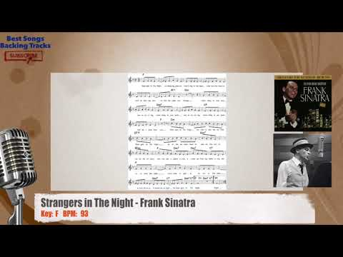 Strangers in The Night - Frank Sinatra Vocal Backing Track with chords and lyrics