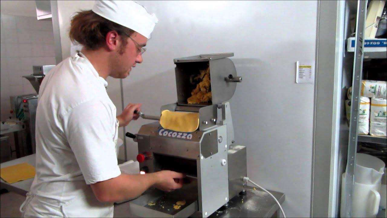 Macchine per pasta cocozza sfogliatrice da banco - Macchine per la pasta casalinga ...