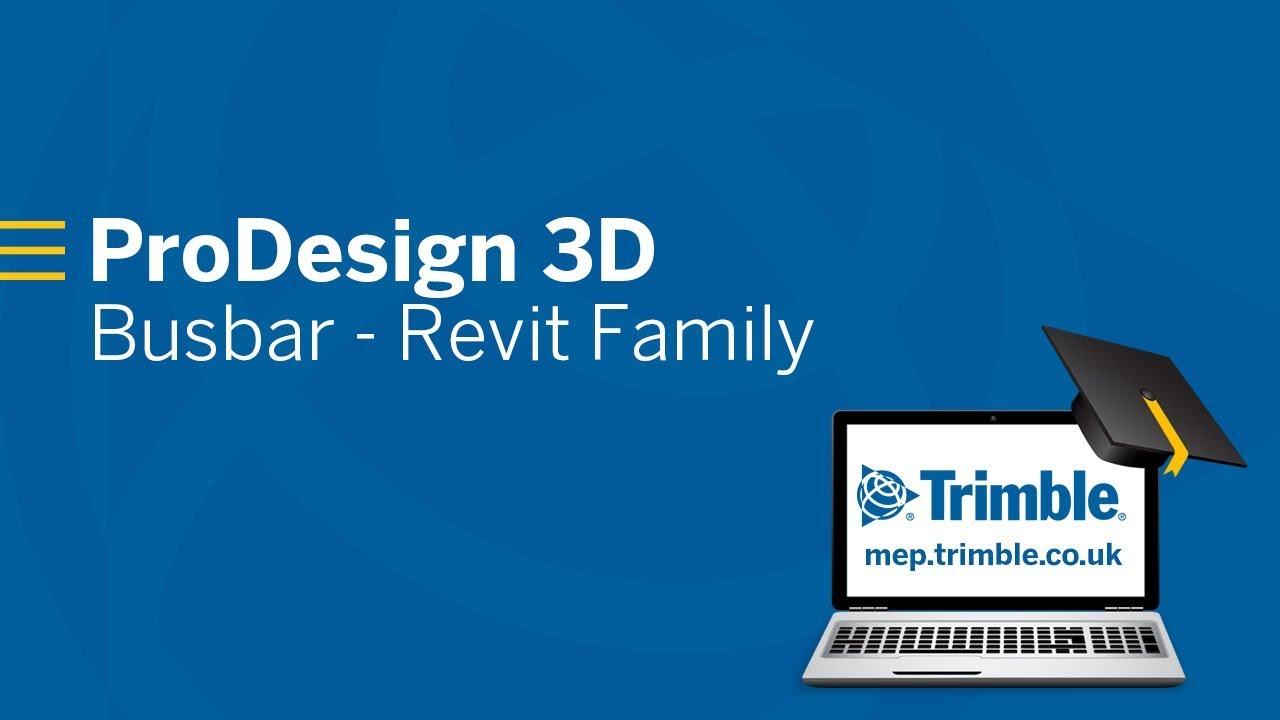 ProDesign 3D - Busbar - Revit Family