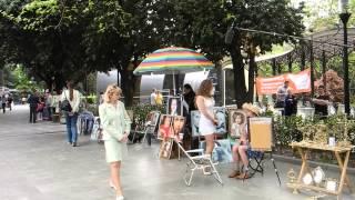 """Как снимается фильм """"Виталька"""" на Набережной в Ялте"""