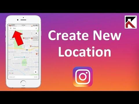 Как в инстаграмм добавить адрес местонахождения