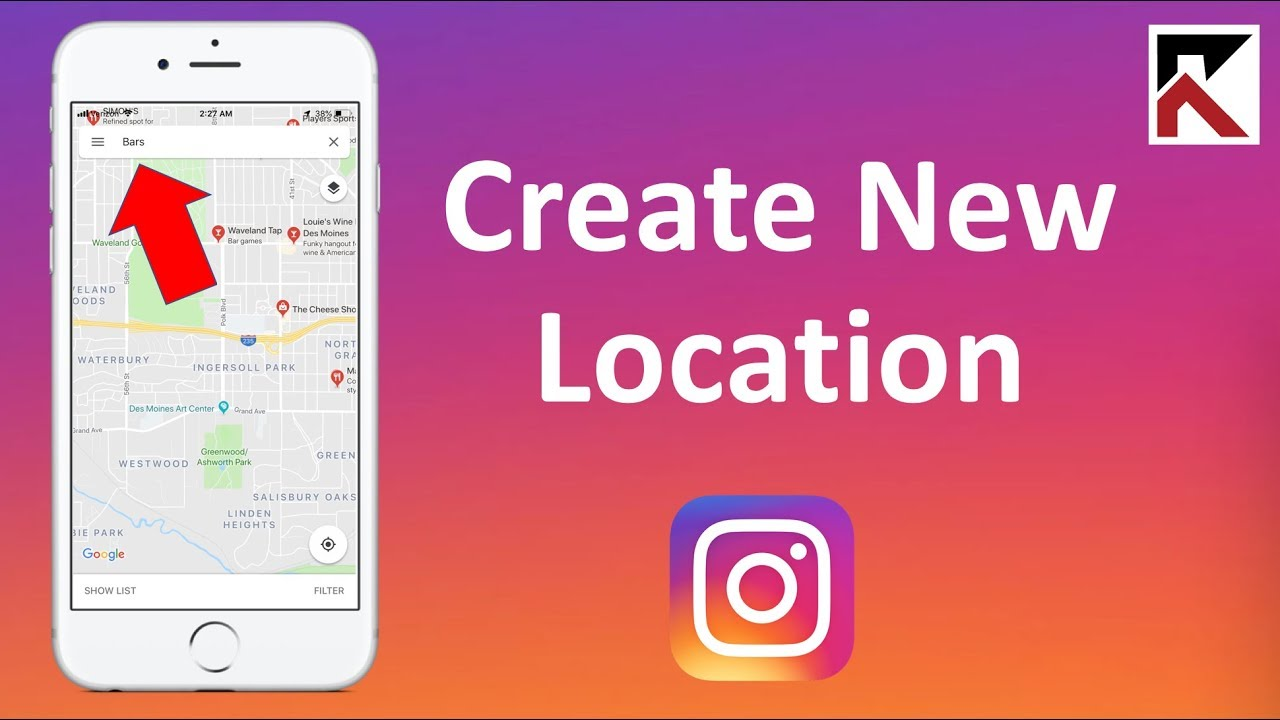 How to create a new location instagram youtube how to create a new location instagram ccuart Images