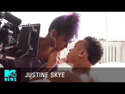 "BTS of Justine Skye's ""Back For More"" Music Video 