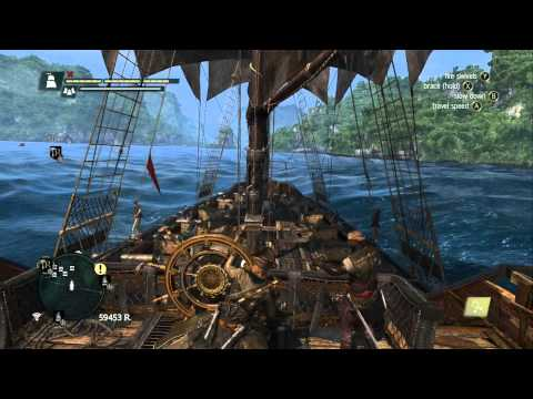 Assassin's Creed 4 Black Flag - Open Sea Free Roam Shenanigans