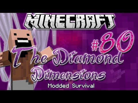 """I AM NOTCH!"" | Diamond Dimensions Modded Survival #80 | Minecraft"