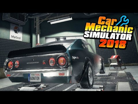 full download car mechanic simulator 2018 nissan r34 gt r. Black Bedroom Furniture Sets. Home Design Ideas